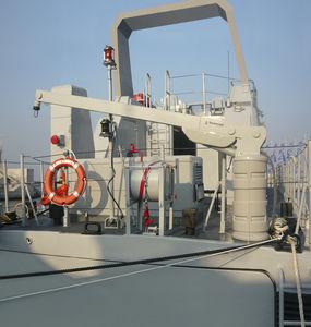 gruetta per barca / per yacht / idraulica / girevole