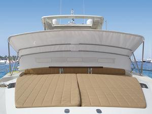 tendalino parasole per barca / per cabina di pilotaggio / con struttura in acciaio inossidabile