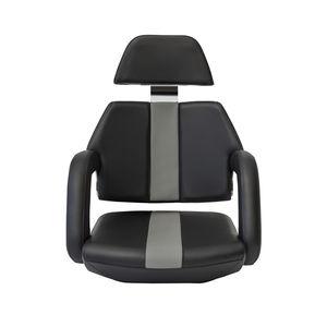 sedile pilota / per barca / con braccioli / fisso