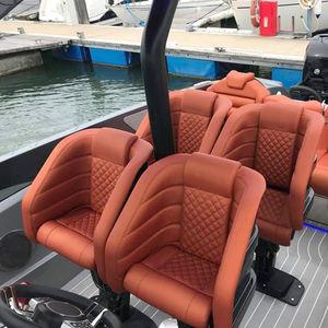 sedile pilota / per barca / con braccioli / elettrico