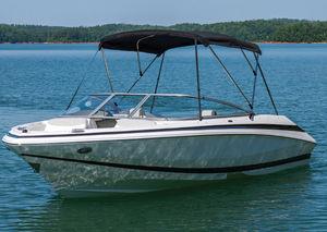 tendalino parasole per barca a motore / per cabina di pilotaggio / con struttura in alluminio