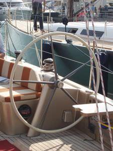 colonnina per ruota del timone per barche a vela
