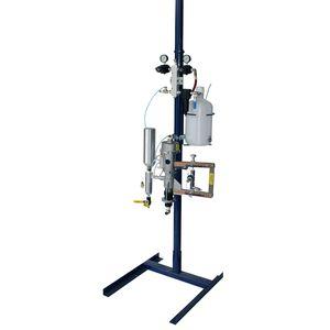 macchina a spruzzo resina / simultanea / per cantiere navale
