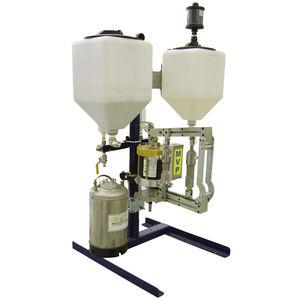 linea di dosatori per polverizzazione bicomponente