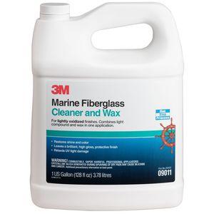 detergente per fibra di vetro / per barca / cera protettrice