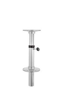 base per tavolo per barca pneumatica / regolabile / in alluminio