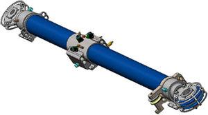 sistema idraulico per albero basculante