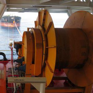 argano per nave / di stoccaggio / con motore idraulico