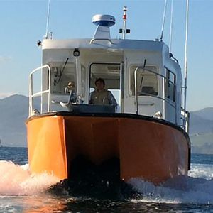 barca professionale nave idrografica / entrobordo