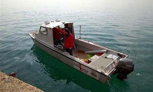 barca professionale barca per la ricerca scientifica / fuoribordo