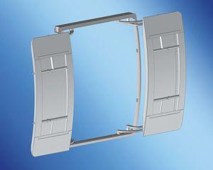 porta per yacht / a pantografo / di poppa / per garage