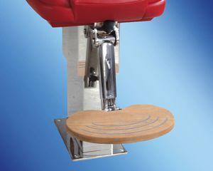 supporto per sedile per barca / regolabile / in acciaio inox