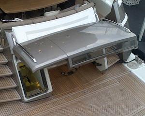 porta per yacht / automatica / per garage / idraulica