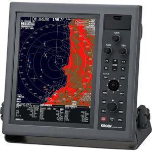 radar per nave / ARPA / a colori / con AIS