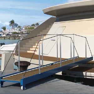 passerella per super yacht / manuale / leggera / su misura