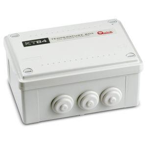 regolatore di carica con controllo di temperatura