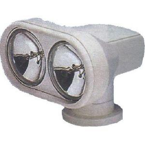 proiettore di ricerca / per barca / telecomandato / doppio