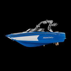 deck boat entrobordo / con dual console / bow-rider / open