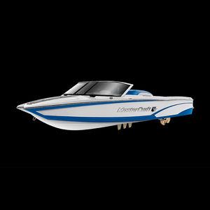 deck boat entrobordo / con dual console / open / da wakeboard