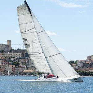 randa / per barca a vela da regata / cross-cut / taglio radiale