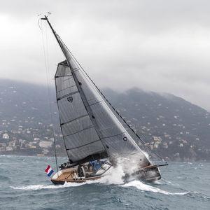 randa / per yacht a vela da crociera / triradiale / in carbonio