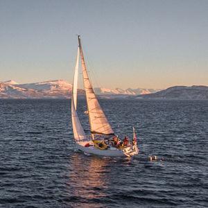 randa / vela di prua / per barca a vela da spedizione / cross-cut