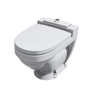 WC per nave / con aspirazione per il vuoto / sospeso