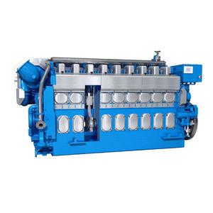 motore per nave semi veloce / diesel / a gas / a doppio combustibile