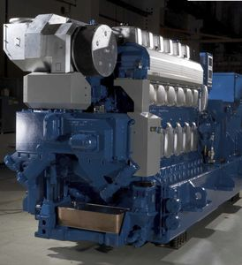 gruppo elettrogeno per nave / diesel / ausiliare