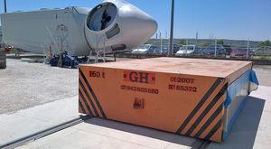 rimorchio per movimentazione / per cantiere navale / semovente / elettrico