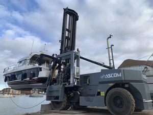 carrello elevatore per barca