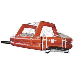 sistema di recupero di uomo a mare per barca