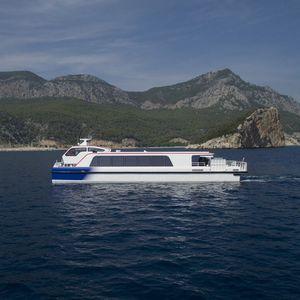 barca professionale barca per trasporto passeggeri / catamarano
