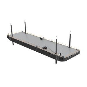 nave speciale chiatta da lavoro / per acque interne