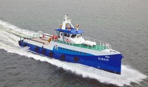 nave di supporto offshore per il trasporto dell'equipaggio