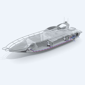 sistema combinato condizionatore e riscaldamento per barca