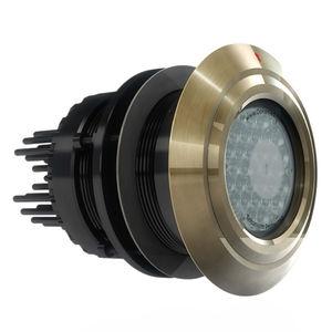 illuminazione subacquea per yacht / lampadine ad alogenuro metallico / passascafo / per scafo in alluminio