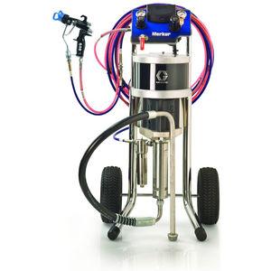 macchina per polverizzazione di pittura mobile