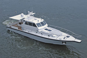 barca professionale patrol boat / entrobordo / in alluminio