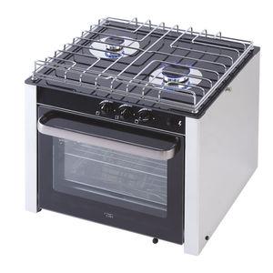fornelli con forno integrato per barca / a gas / 2 fuochi / con grill