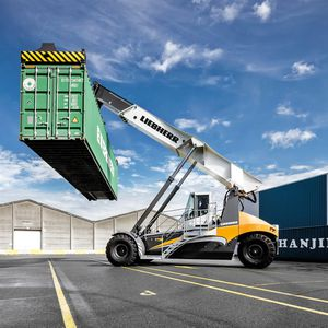 reach stacker spreader dall'alto / per contenitori