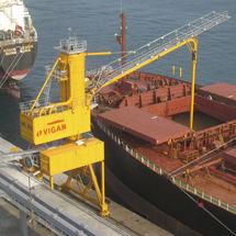scaricatore di navi continuo