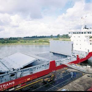 copertura per boccaporto per nave cargo / pieghevole