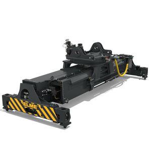spreader per container pieni / telescopico / elettrico