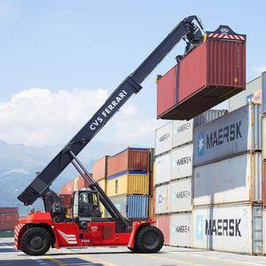 reach stacker spreader dall'alto / per container pieni