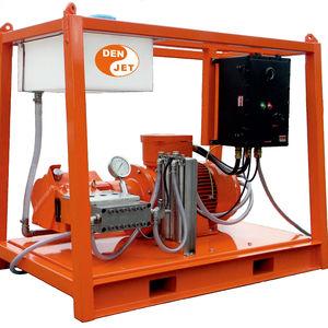pulitore ad alta pressione per cantiere navale / montato su chassis / con motore elettrico / ATEX