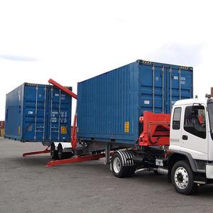 rimorchio portacontainer / per terminale portuario / autocaricante / caricamento laterale