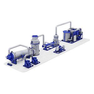 generatore di gas inerte per metaniera