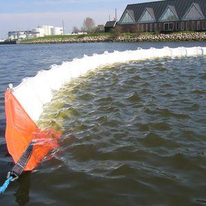 barriera antinquinamento / galleggiante / per acque calme