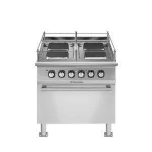 fornelli con forno integrato per barca / elettrico / 4 fuochi